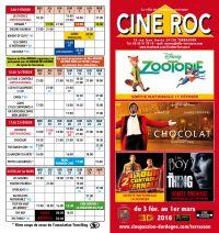 Programme du Ciné Roc de Terrasson du 9 janvier au 9 février 9019